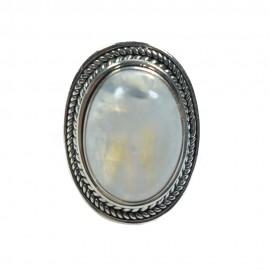 Inel Argint Piatra Lunii Bozena