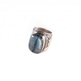 Inel Argint Labradorit Shino